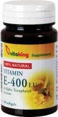 E-vitamin 400NE természetes,60db /Vitaking/