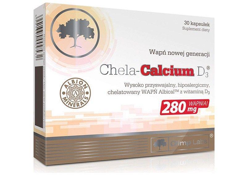 Kalcium D3-vitaminnal -Chela-calcium D3 30db /Olimp Labs/