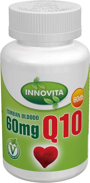 Q10 60 mg zsírban oldódó 60db tabletta /Innovita/