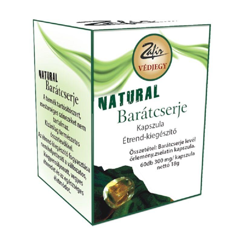 Natural Barátcserje kapszula 60db /Zafír/