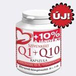 Szívünkért Q1+Q10 kapszula, szelénnel és B1-Vitaminnal 30db /Celsus/