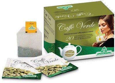 100% tiszta, zúzott zöld kávé filtertea 20db /Specchiasol®/