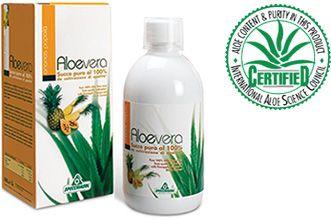 100%-os Aloe Vera ital + ananász, papaya, fekete ribizli 1000ml /Specchiasol/