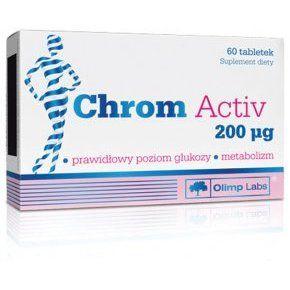 Chrom Activ - szerves króm aktív tabletta 60db /Olimp Labs/