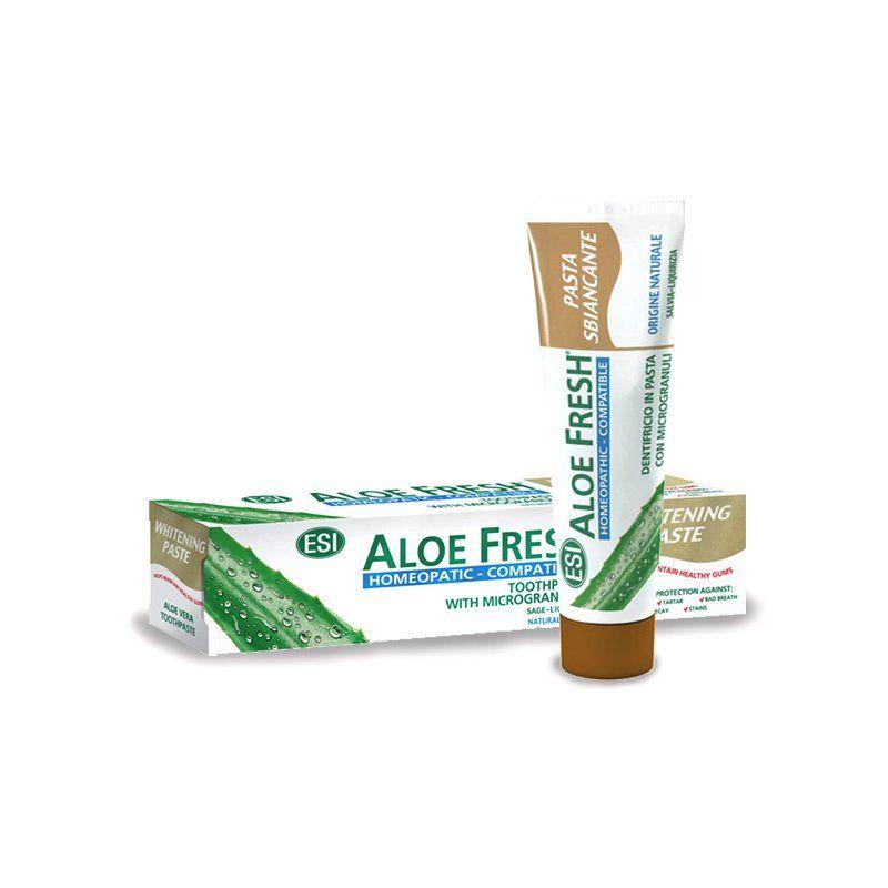 Aloe Fresh® fogkrém 100ml /ESI®/ Homeopáta-kompatibilis