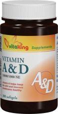 A és D vitamin 60db gélkapszula /Vitaking/