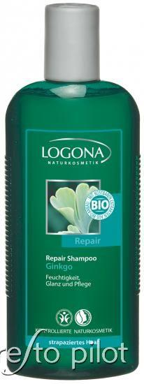 Logona Bio Ginkgo hajregeneráló sampon - száraz, töredezett hajra 250ml