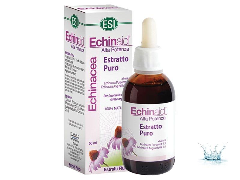 Alkoholmentes ECHINACEA csepp 50ml /ESI/ - Immunvédő, külső, belső gyulladások, felső légúti, húgyuti fertőzések