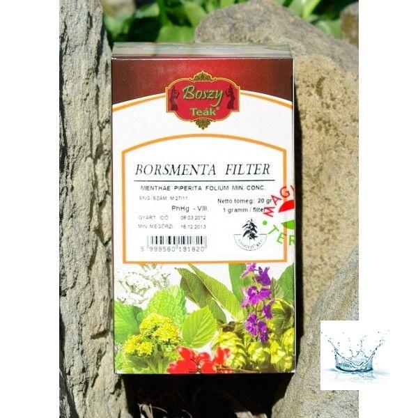 Borsmenta Filter tea 20 db filter /Boszy teák/