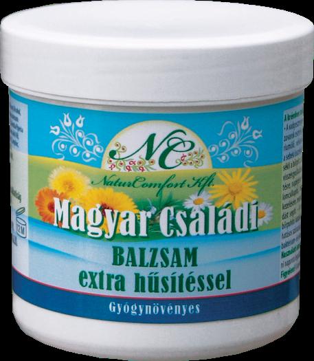 Magyar Családi Balzsam Extra Hűsítéssel 250 ml /Naturcomfort/