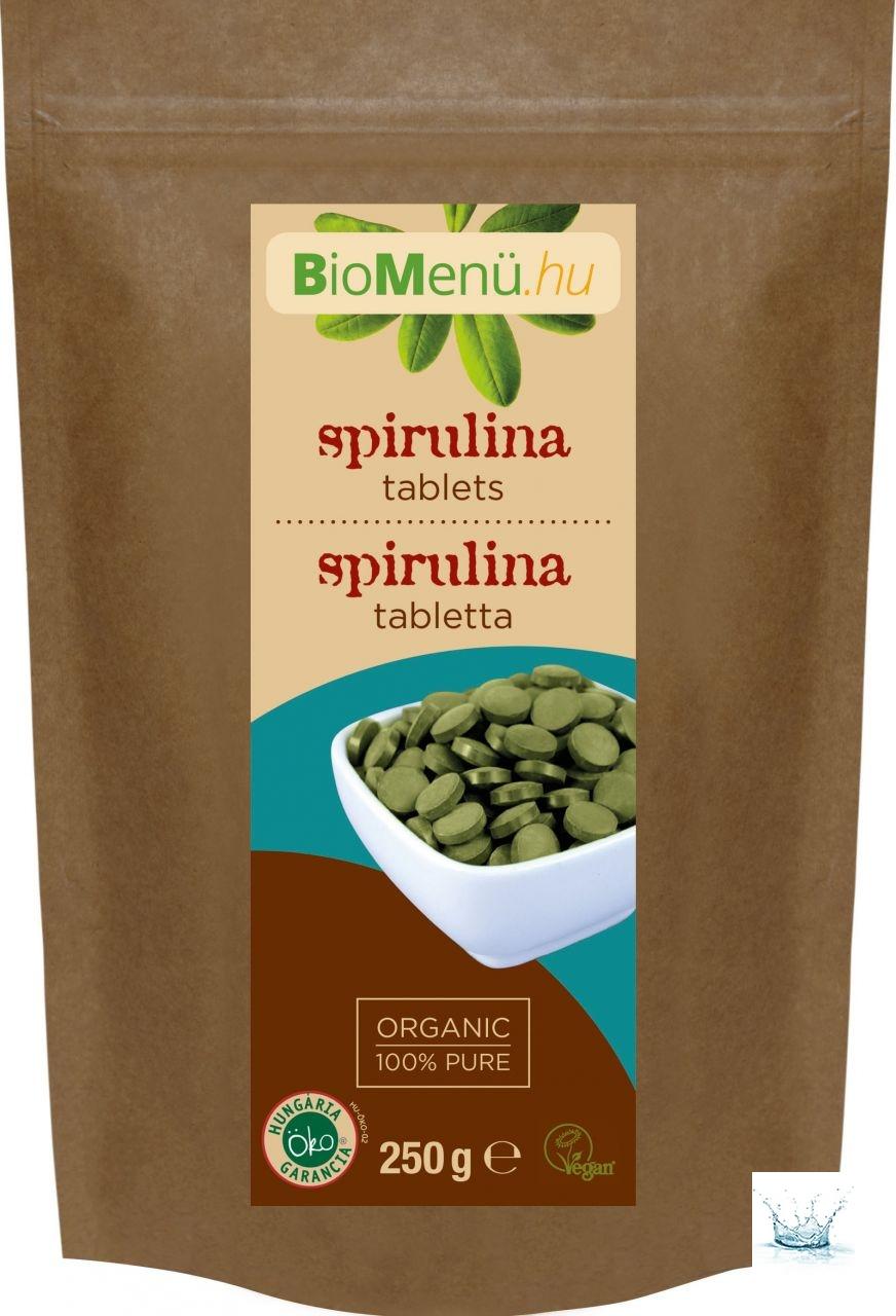 BioMenü Bio Spirulina Tabletta 250 g