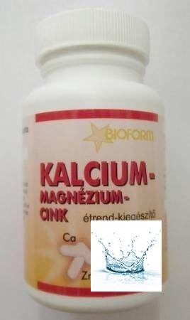 Bioform Kalcium-Magnézium-Cink tabletta 60 db