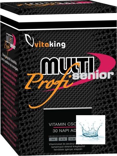 Multi Senior Profi vitamincsomag 30 napi adag /Vitaking/