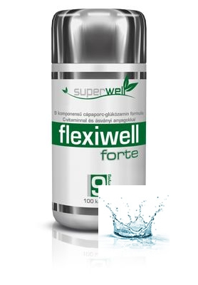 Flexiwell Forte kapszula 100 db /Superwell/