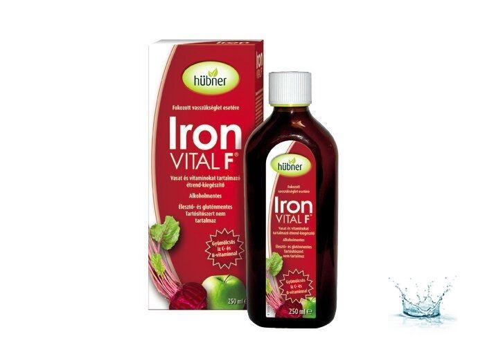 Hübner Iron Vital F Szirup 250 ml