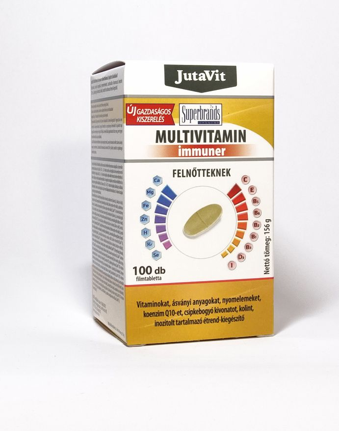 Jutavit Multivitamin Immuner Felnőtteknek 100 db