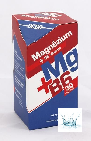 OCSO Magnézium + B6-vitamin Kapszula 30 db