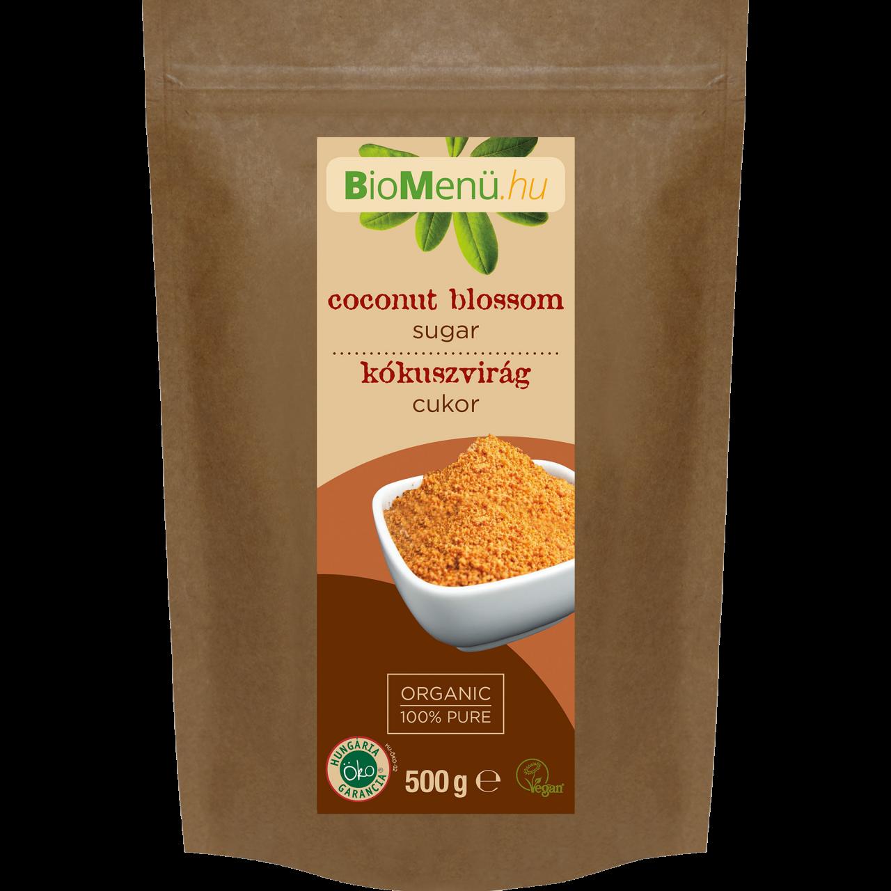 BioMenü Bio Kókuszvirág Cukor 500g