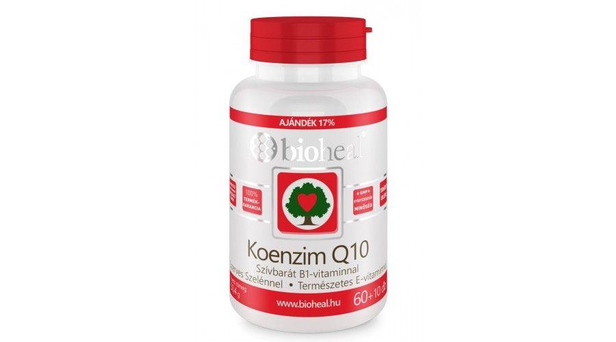 Bioheal Koenzim Q10 60mg tabletta 70db