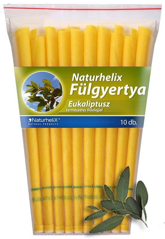 Naturhelix Fülgyertya Eukaliptusz 10db