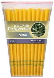 Naturhelix Testgyertya Natúr 10db