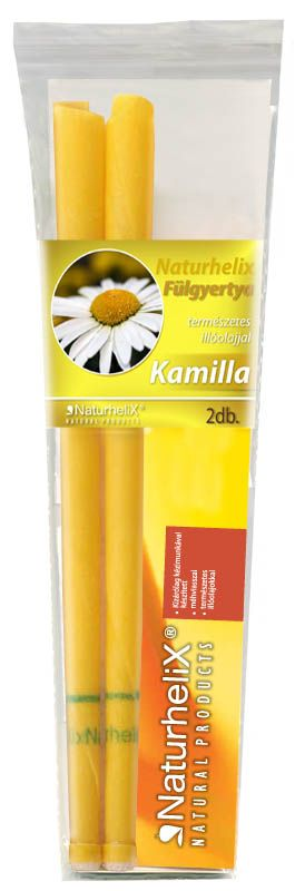 Naturhelix Fülgyertya Kamilla 2db