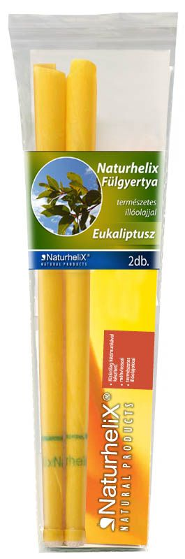 Naturhelix Fülgyertya Eukaliptusz 2db