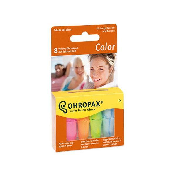 Ohropax Füldugó Color 8db
