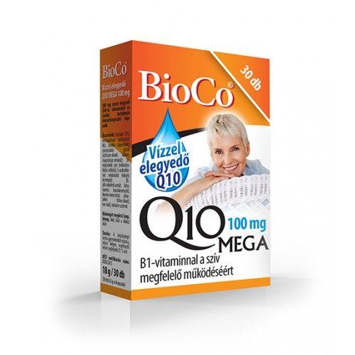 BioCo Q10 Mega 100mg Kapszula 30db /vízoldékony/