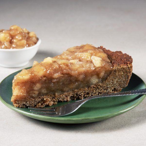 Hideg Nyalat paleo és vegán Almás pite szelet 100g -GYORSFAGYASZTOTT