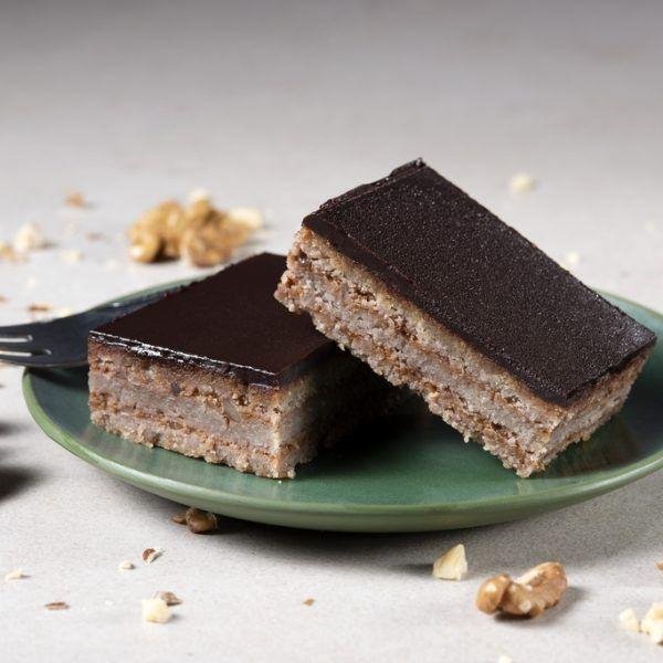 Hideg Nyalat paleo és vegán Zserbó szelet sütemény 100g -GYORSFAGYASZTOTT