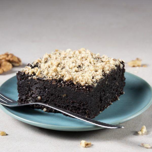 Hideg Nyalat paleo és vegán Diókrémes Brownie sütemény 100g -GYORSFAGYASZTOTT