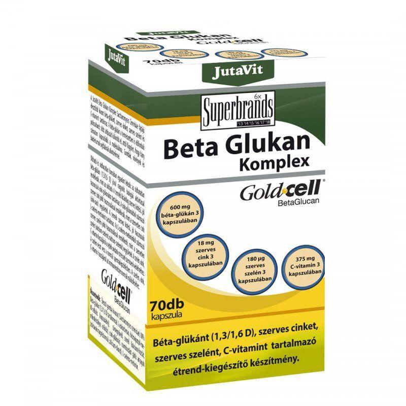 Jutavit Béta-glükán Komplex kapszula 70db