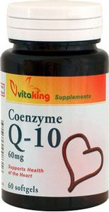 Q-10 Koenzim 60mg 60db softgel kapszula /Vitaking/