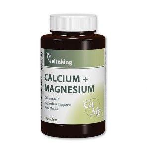Calcium Magnesium 500/250 100db tabletta /Vitaking/