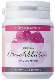 Bach virág Rágógumi -Energia-pirosribizli ízű 40db