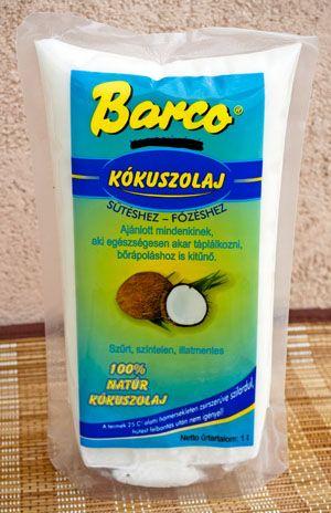 Barco Kókuszolaj 1kg